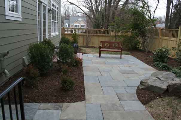 Bluestone Pennsylvania Flagstone Patio