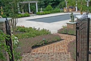 Romantic Poolside Garden | West Winds Nursey