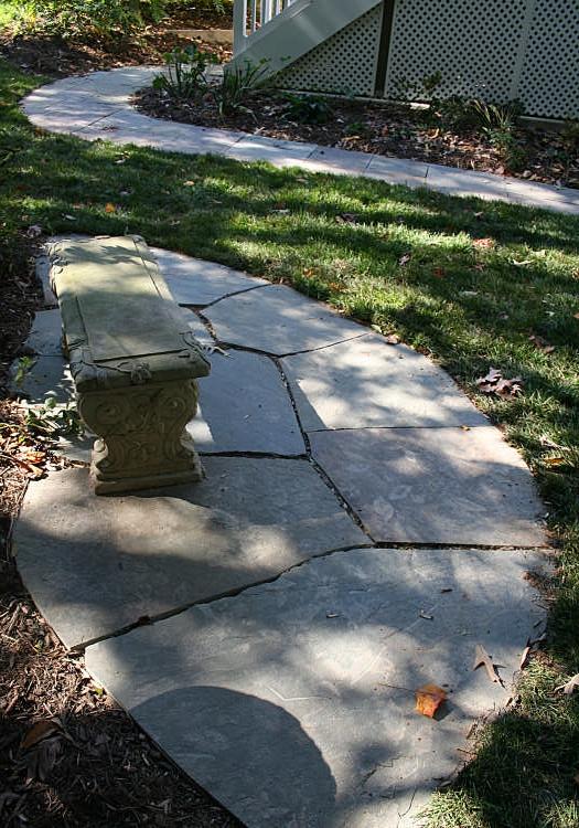 Shaded Garden Seat