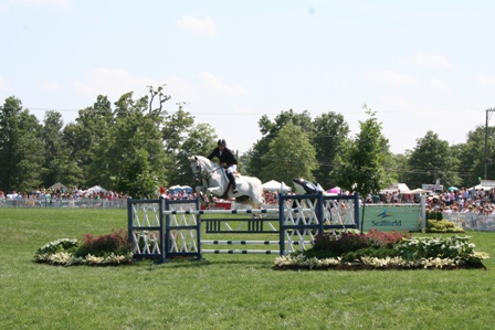 Upperville Horse Show Jump Image 2
