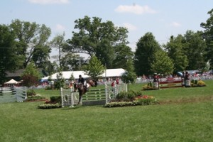 Upperville Horse Show Jump Image