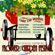 Join us at the Leesburg Flower and Garden Festival, April 20-21